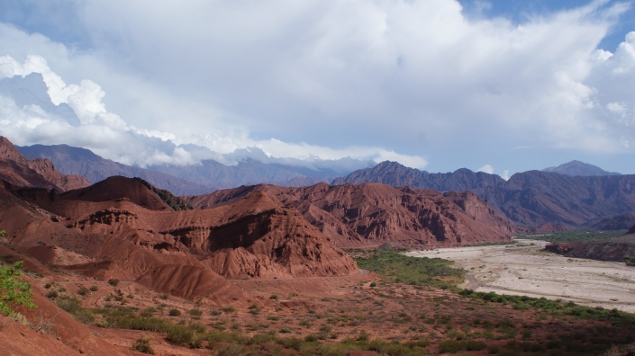 Route 68 between Salta and Cafayate