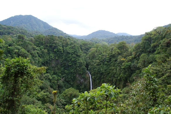 View of La Catarata de la Fortuna