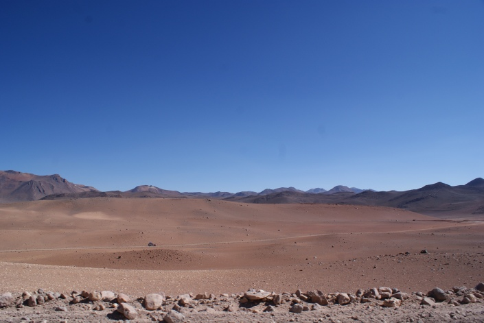 Bolivia's martian landscape