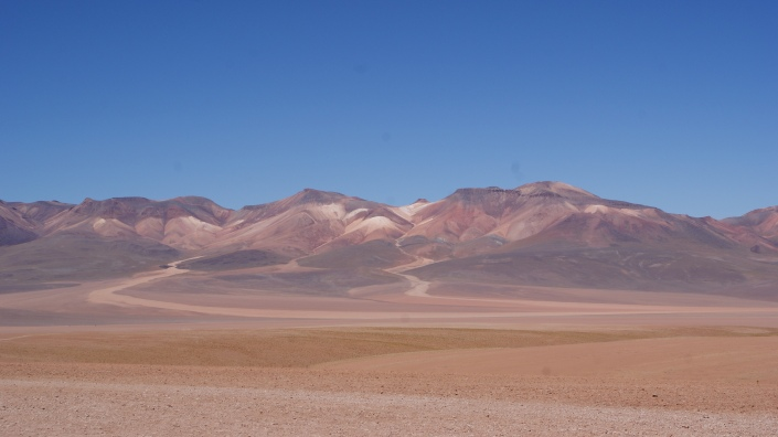 Bolivia's dessert landscape