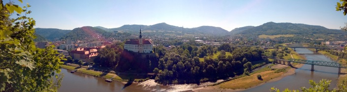 View of Decin